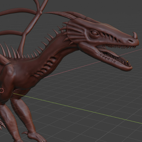 Dragon Digital Sculpt
